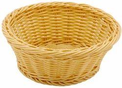 Heavy Duty Polypropylene Rattan Basket Round