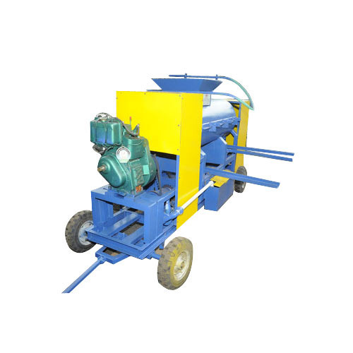 Diesel Engine MINI Brick Making Machine