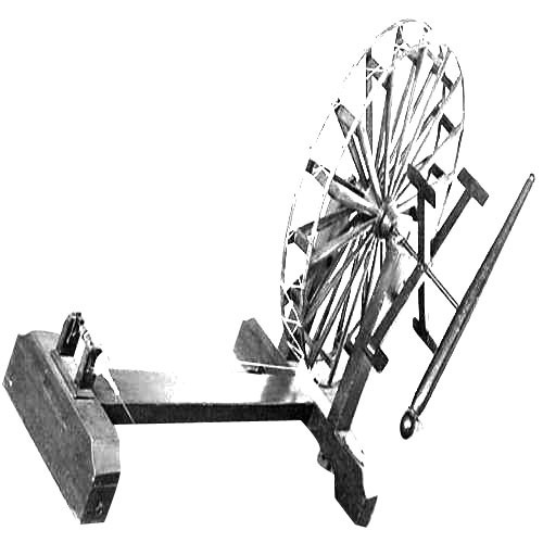 Weaving Charkha - Wooden Spin Wheel Exporter from Ahmedabad