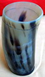 Grey Horn Glass