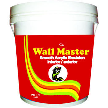 Wall Painting Materials Plastic Emulsion Manufacturer From Bengaluru