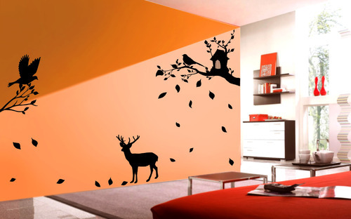 Nature wall design