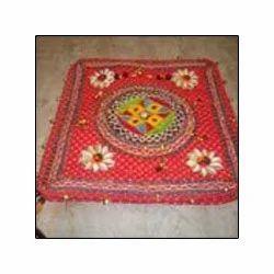 Multicolor Cotton Ethnic Design Bag, Size: Medium