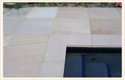 Pool Surround Stone, Surface Finish : Polished