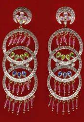 Silver Earring-Si004