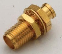 ST02SMAFBH141S06 SMA F B/H RG-141 Solder, 6Ghz, Contact Material: Gold