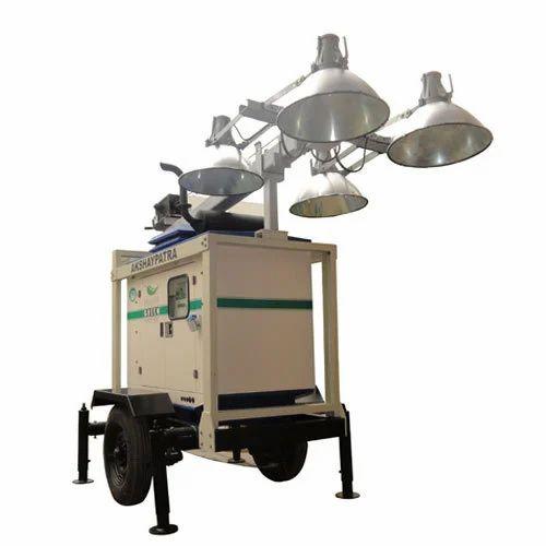Portable Light Tower Price: Mobile Lighting Tower Manufacturer From New Delhi