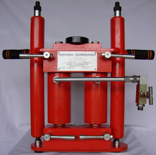 12 MT Hydraulic Tank Jacks