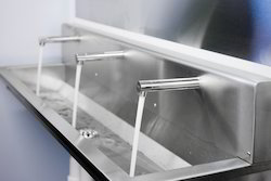 stainless steel wash troughs