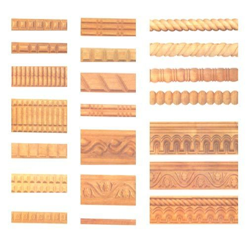 Teak Wood Mouldings Borders