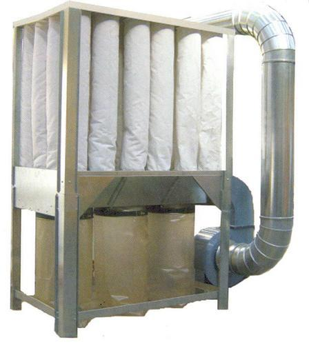 Dust Collection Systems - Mobile Dust Collector With Cyclone