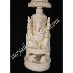 Bone Sitting Ganesha