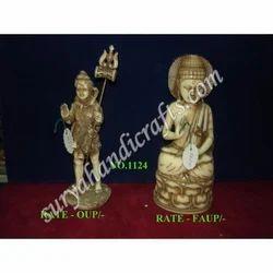 Resin Shiv Buddha