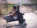 Motorized Ground Level Wheelchair