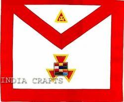 Hand Embroidered Masonic Apron
