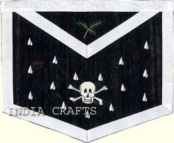 Hand Embroidered Masonic Apron - View Specifications
