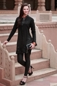 Ladies Cotton Black Kurti