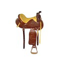 Western Hand Tooling Saddle