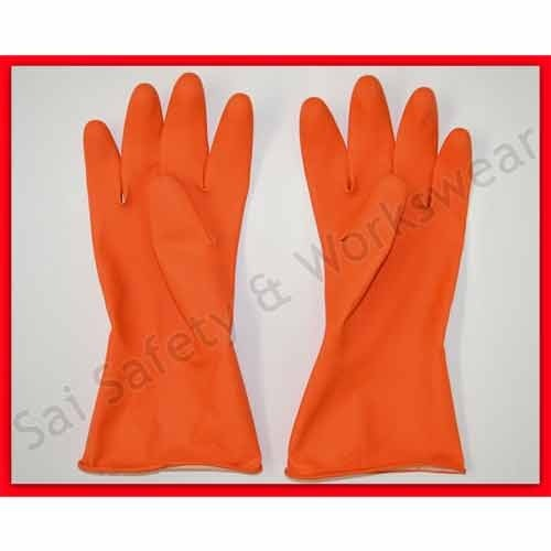 House Hold Rubber Hand Gloves - ML-75 Rubber Hand Gloves ...