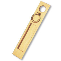 Brass Letter Push Plates