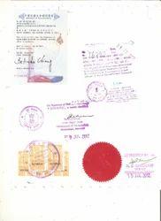 Degree Certificate Legalization