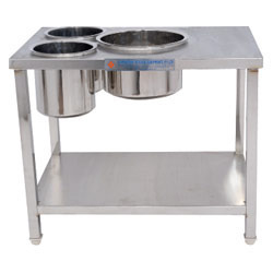 Dosa Work Table With Vessel