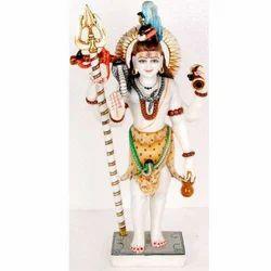 Standing Shiv Ji Marble Statue