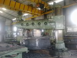 Drilling Work On 100mm Radial Drill Machine