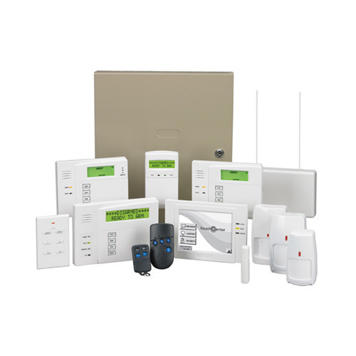 intrusion alarm system - view specifications & details of alarm, Wiring schematic