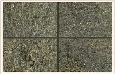 Jeera Green Natural Slate Stone, Thickness: 10-20 mm