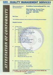 Certificates - 2