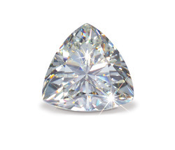 Trillion Cut Moissanite Diamond