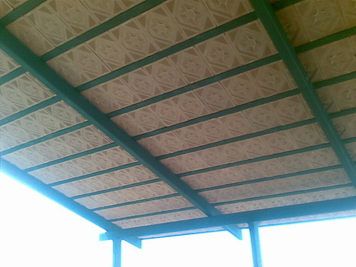 Steel Stainless Steel Steel Truss Roof Rs 350 Square