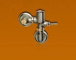 Antique Nickel & Gold Flush Valve