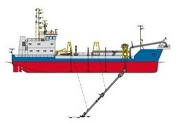 Trailing Suction Hopper Dredger at Best Price in India