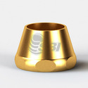 Brass Cone Nut for Bend Pipe Connection