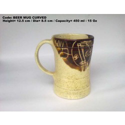 Promotional Curved Beer Mugs