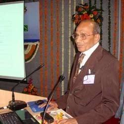 LD Patel At Seminar Presentation