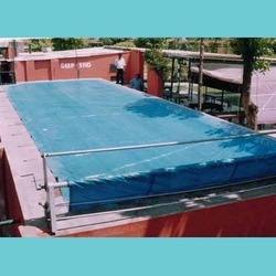 Swimming Pool Cover - Swimming Pool Cover With Roller Manufacturer ...
