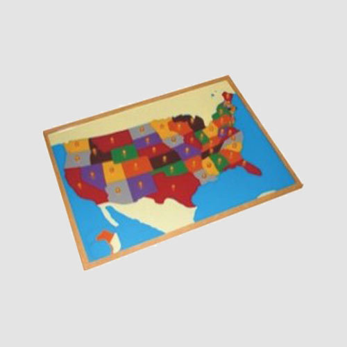 USA Map Puzzle - View Specifications & Details of Montessori Puzzle ...