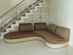 sofa designs backless manufacturer from vadodara
