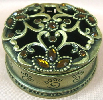 Brass Jewelery Box