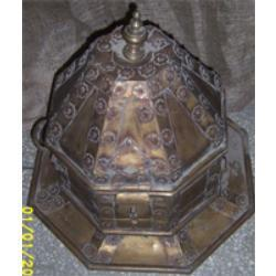 Antique Brass Boxes