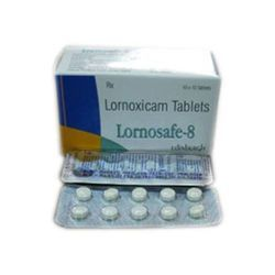 Lornosafe 8mg Lornoxicam Tablet