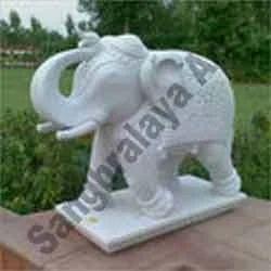 Exceptional Garden Elephant Statue