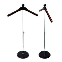 Office Accents Mahogany Royal Valet Coat Hanger Rack Stand (Rack stand),  Brown