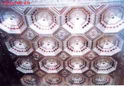 Hexagonal Dome Ceiling