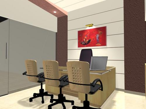 3d models for offices interior in pune bhawani peth by space