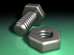 Steel Nut And Bolt