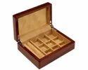 Wooden Cufflink Box